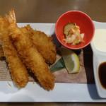 オイスターハウス静岡 - エビ&牡蠣フライ