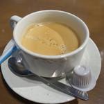 オイスターハウス静岡 - セットドリンク(コーヒー)