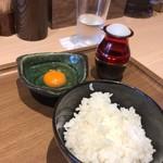 支那そばや 知立 - 名古屋コーチン 卵かけごはん