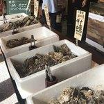 港の牡蠣センター カキ小屋 -