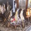 そば 祖谷美人 - 料理写真:でこまわし、あめご塩焼き、鮎の塩焼き