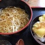 山都家 - ランチ(温うどん&ミニ天丼)