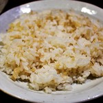 sync - 発芽玄米ご飯=食べ放題は自分で炊飯器から