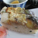 善光 - 焼鯖押寿司