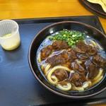 Gansodokidokiudon - 肉肉うどん(  ̄▽ ̄)