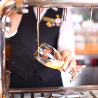 ドラフトマスター厳選!10種類のドラフトビール