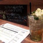 デリ&バル ヴィスキオーレ - 自家製柚子酒とキウイグラニテのモヒート