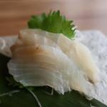 白金魚食堂 - ヒラメ