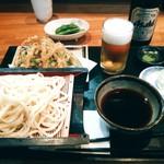 さかい - 野菜天もり(うどん)