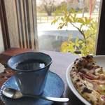 カフェ フクバコ - ランチセットの珈琲