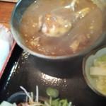 九絵 - 牡蠣カレー/カメラレンズ曇ってしまった