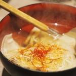 おさかなや 和樽 - ネギトロ水餃子
