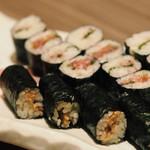 おさかなや 和樽 - ネギトロ、梅しそ、納豆細巻き