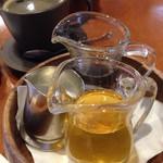 花きゃべつ - 2種類のメープルと、コーヒー。
