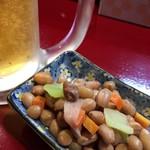 中国蘭州牛肉拉麺 王記 - お通し