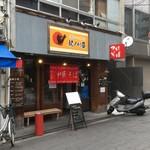 和歌山ラーメン専門店 紀ノ川屋 - 黒門市場南の外れ