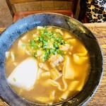 武蔵茶屋 - ハーブ鶏白葱うどん
