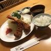とんかつ石ばし - 料理写真:エビフライ1900円、ライス小150円、赤だし150円税込