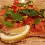 84205304 - 鮮魚のカルパッチョ。