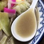 84206094 - スープ(ちゃんぽん)