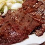 味の牛たん 喜助 - 1.5人前定食+麦飯大盛(2470円)