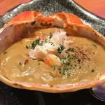 84206356 - 特製カニ味噌甲羅焼き