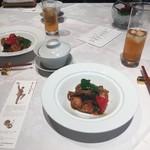 Shisentoufahansou - 鶏肉の四川ニンニクソース炒め