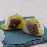 右京 - 桜餅(断面)
