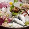 旬味 かめや - 料理写真:刺身の盛り合わせ