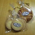 パン時館 - パン時館のクッキーとガレットブルトンヌ