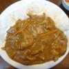 一茶宮代 - 料理写真:そば屋のカレーライス