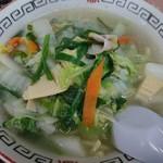 十番 - 料理写真:タンメン¥630