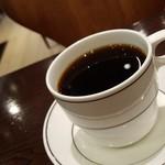トクミツコーヒー - ディカフェのペルー(おかわり330円)です。