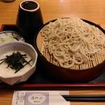 うえ竹 - とろろそば(800円)+大盛り(150円)