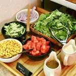 ひばり - サラダたち