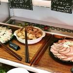 ひばり - 鶏ハム、エスカベッシュ、自家製ローストビーフ