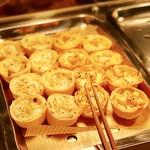 ひばり - キッシュ2種@タケノコとチーズ、海老コーン