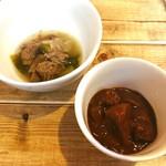 ひばり - 牛スジ煮込み、じっくり煮込んだ牛スジカレー