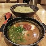 84215795 - めんたい煮こみつけ麺1280円