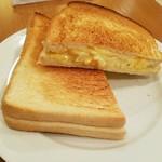ダイニング・バル グラード - さっくり美味いエッグホットサンド!