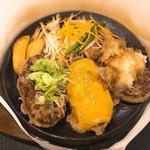 肉のはせ川 - 料理写真:トリプルバーグ 1220円