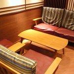 サンマルクカフェ - 4階のソファー