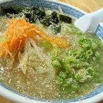 ヒカリ - 料理写真:ラーメンスープライス 600円