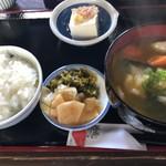 辻の茶屋 - だんご汁定食