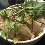Akihabaragyokoukaikai - 胡麻かんぱち丼