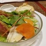 ド・マーレ湘南 - ランチセットのサラダ
