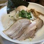 麺縁 ジョウモン - 味玉豚しお 大盛り