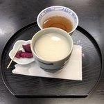 本丸茶屋 - 甘酒