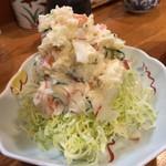 季節料理 三味 - ポテサラ