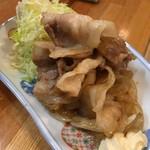 季節料理 三味 - 豚の生姜焼き:タレの加減が絶妙だ